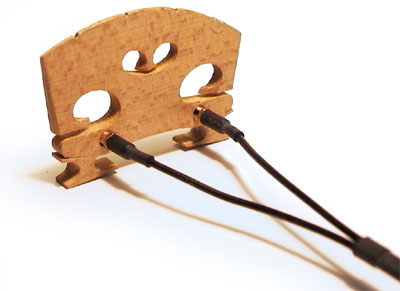 Wilson violin pickups for sale at Bridgewood and Neitzert London