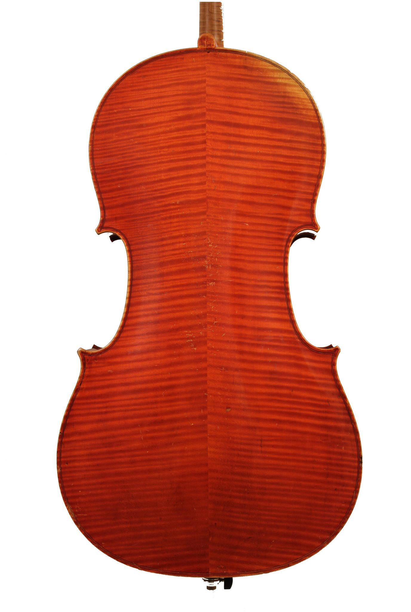 Cello by Paul Francois Blanchard, Lyon 1898 for sale at Bridgewood and Neitzert London
