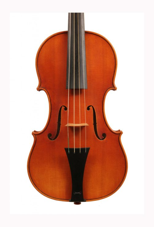 Baroque violin by Roland Ross 2007 for sale at Bridgewood and Neitzert London