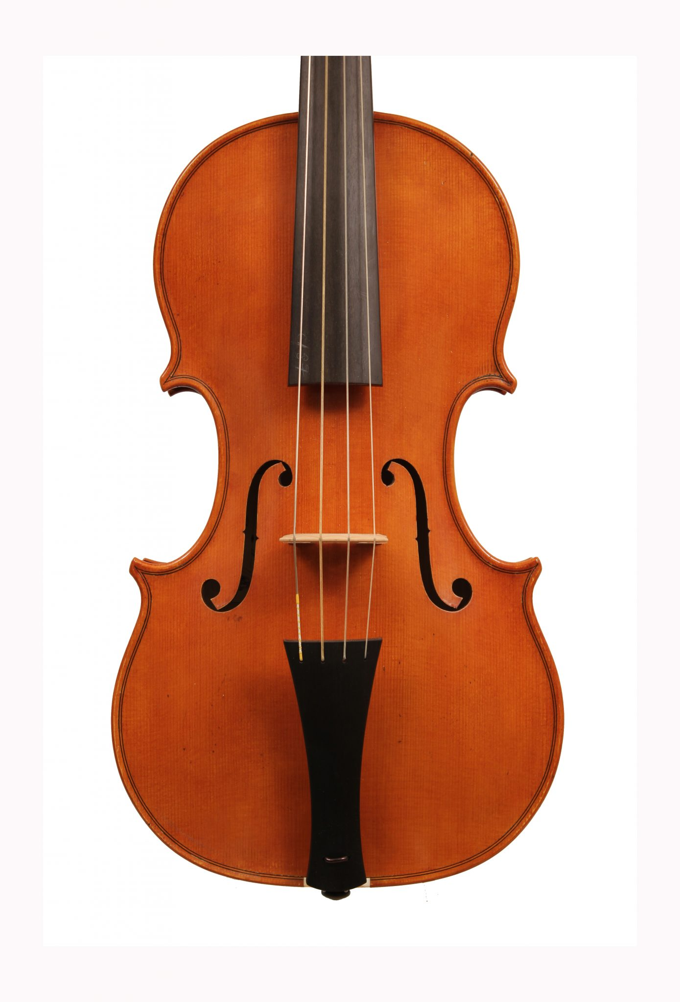 Baroque violin by Ted Gaut 2009 for sale at Bridgewood and Neitzert London