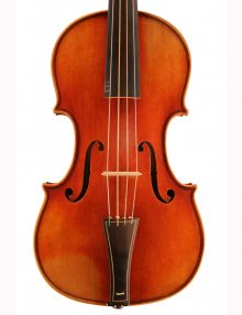 Jay Haide baroque violin for sale at Bridgewood and Neitzert London