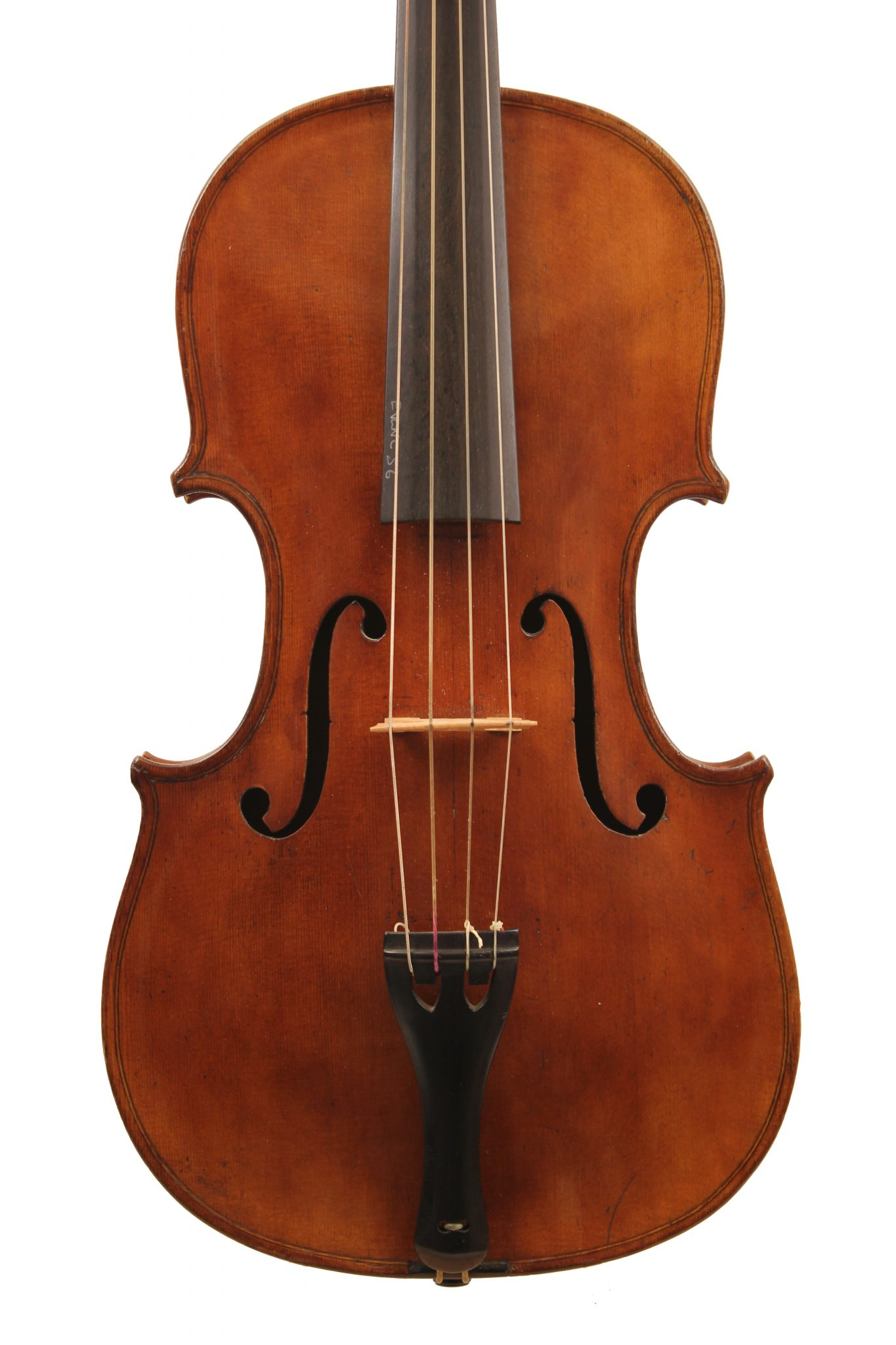 Baroque Violin Saxon for sale at Bridgewewood and Neitzert London