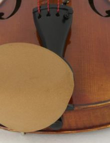Strad Pad Chinrest Cover for Violin and Viola for sale at Bridgewood and Neitzert London