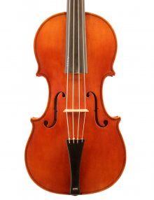 Baroque violin by Shem Mackey for sale at Bridgewood and Neitzert London