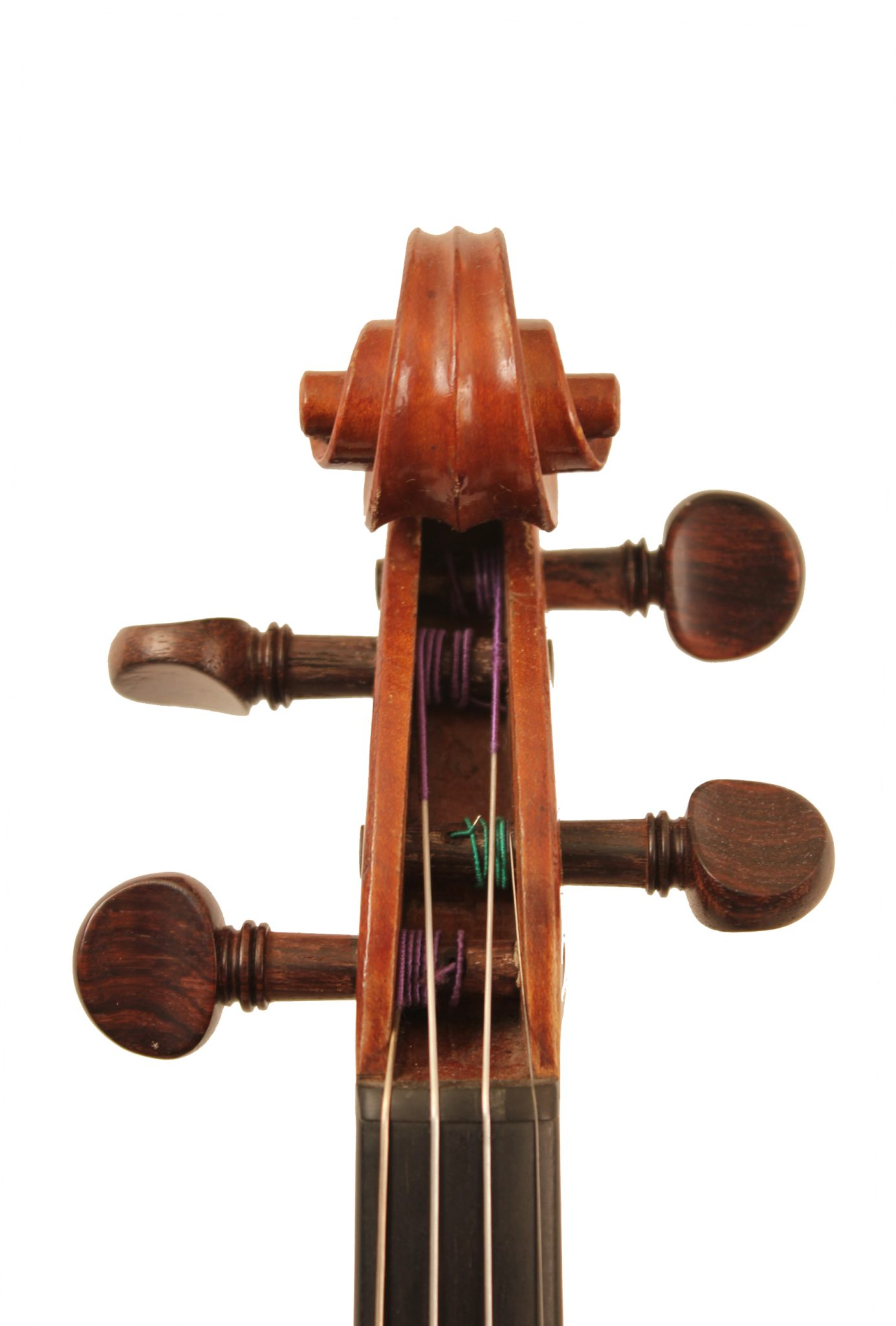 Violin by Nicholas Bertolini c.1890 for sale at Bridgewood and Neitzert London