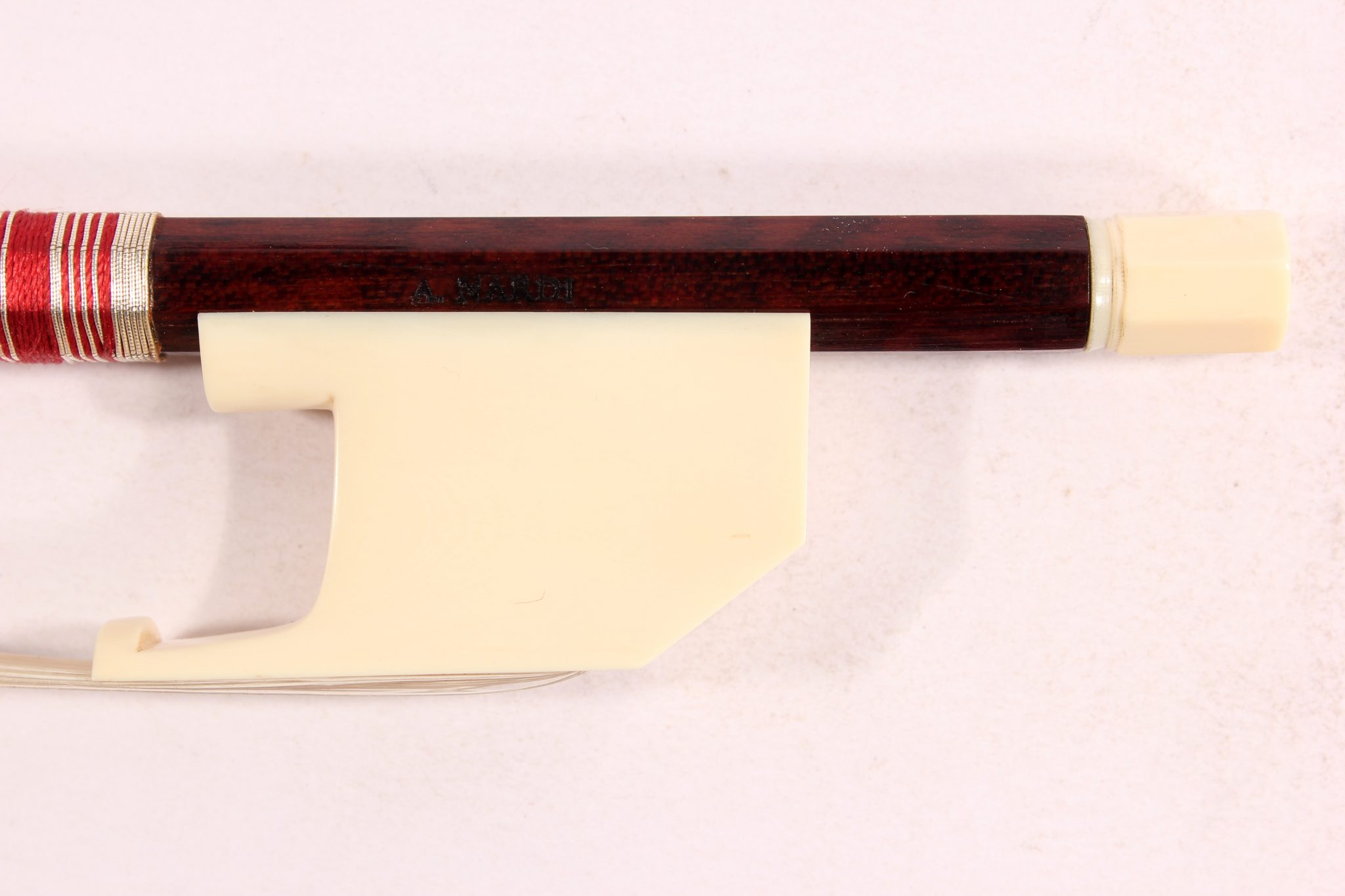 Transitional Violin Bow by A. Nardi for sale at Bridgewood and Neitzert London