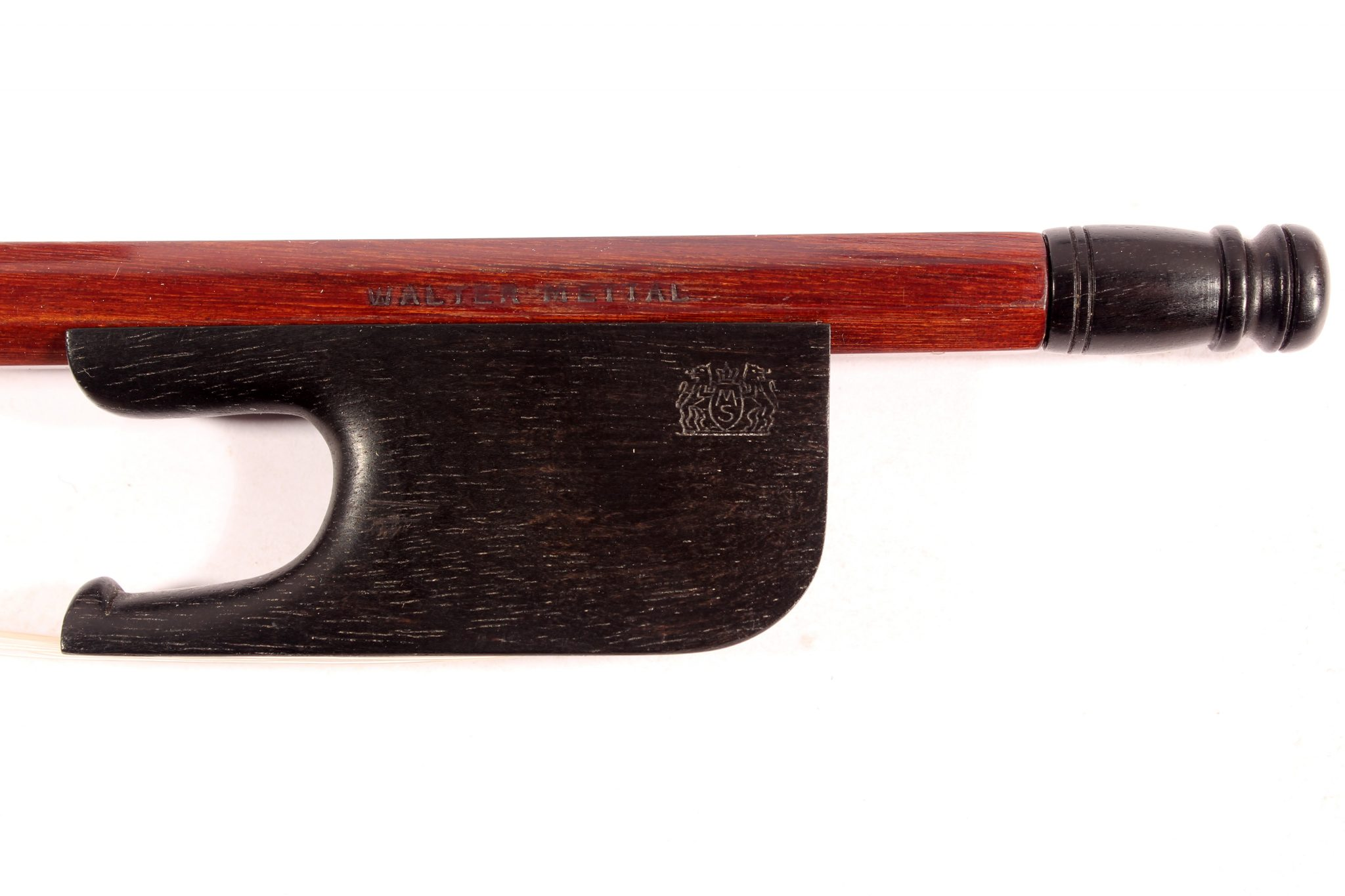 Baroque Cello bow by Walter Mettal for sale at Bridgewood and Neitzert London