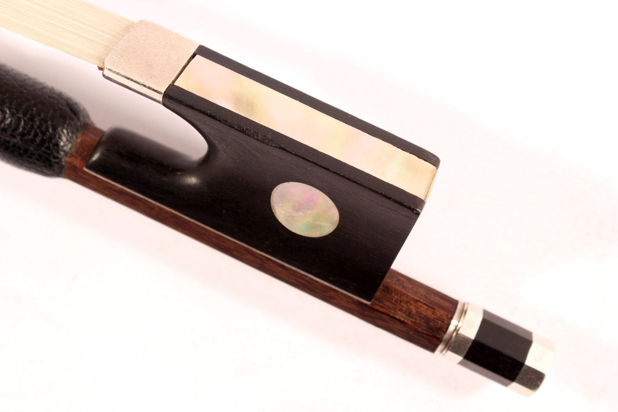 Classical Cello bow by Brian Tunnicliffe for sale at Bridgewood and Neitzert London