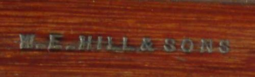 W E Hill & Sons Dragonetti Bass Bow for sale at Bridgewood and Neitzert London