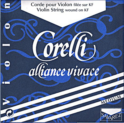 Corelli Alliance Violin Strings for sale at Bridgewood and Neitzert London