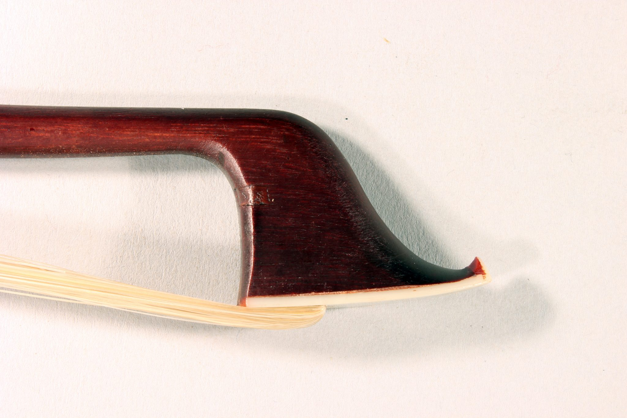 Bass Bow G Werner French Pattern 1/2 Size for sale at Bridgewood and Neitzert London