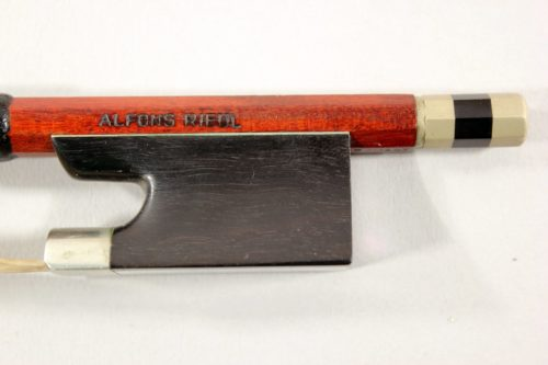 Viola bow by Alfons Riedl for sale at Bridgewood and Neitzert London