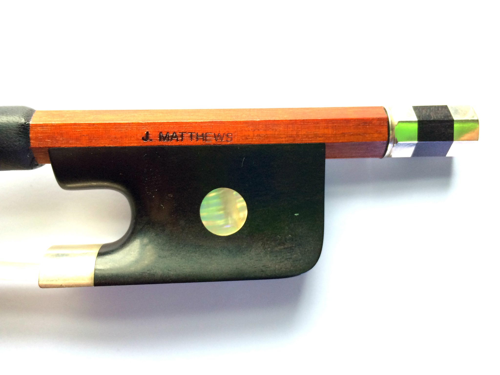 Cello Bow by John Matthews for sale at Bridgewood and Neitzert London