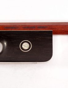 Cello bow by Emilio Slaviero Cremona for sale at Bridgewood and Neitzert London