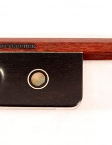 Cello bow by John Clutterbuck for sale at Bridgewood and Neitzert London