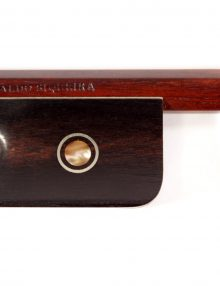 Viola bow by Ronaldo Siqueira for sale at Bridgewood and Neitzert London