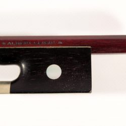 Violin bow by Albert Herrmann 1930 for sale at Bridgewood and Neitzert London