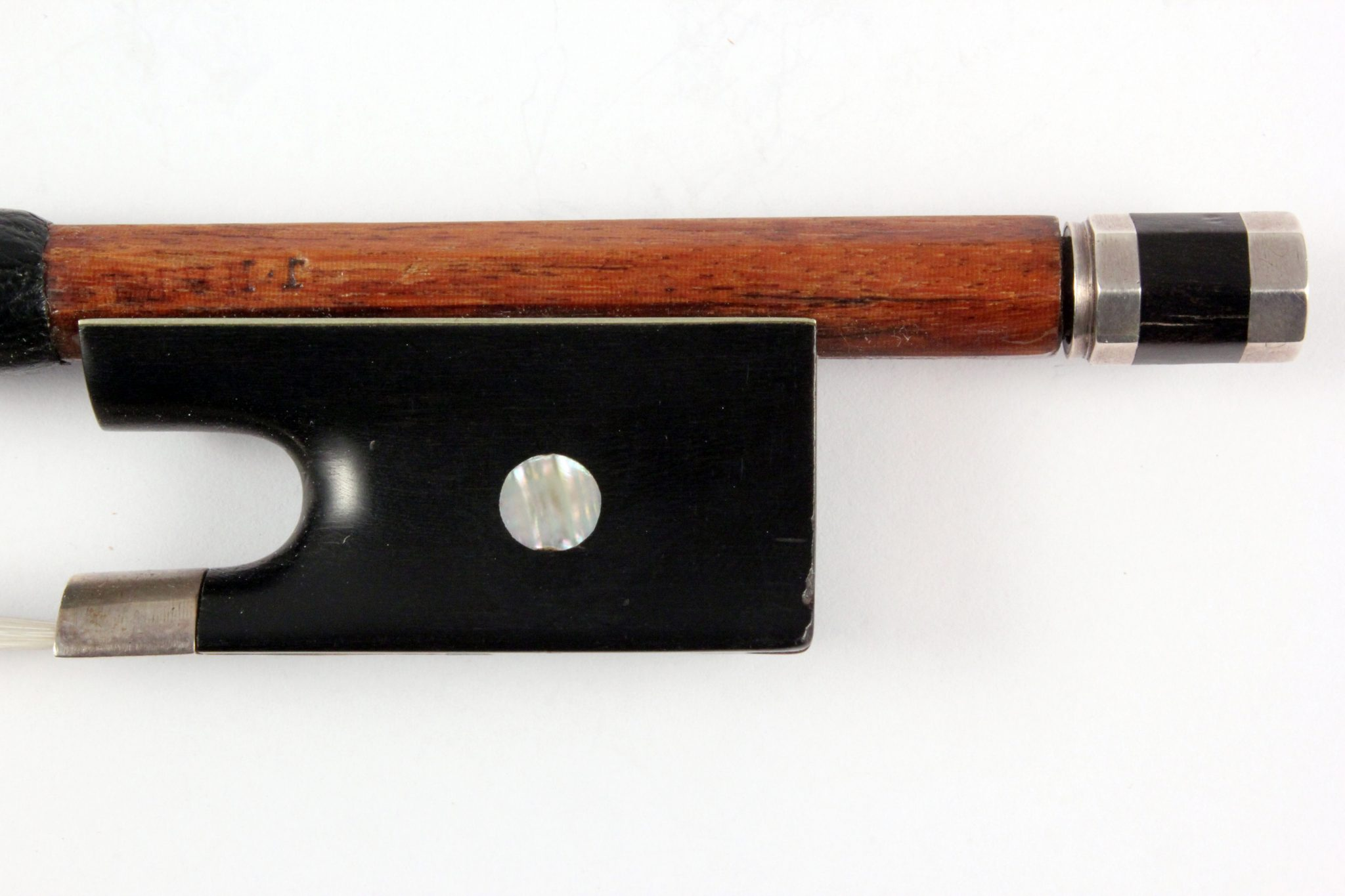 Violin Bow By John Thomas Hart c.1850 for sale at Bridgewood and Neitzert London