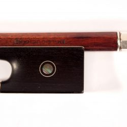 Violin bow by Emile Francois Ouchard pere for sale at Bridgewood and Neitzert London