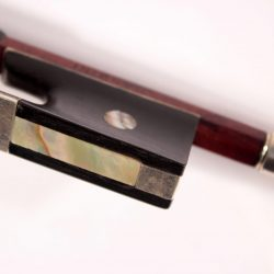 Violin bow Jerome Thibouville Lamy for sale at Bridgewood and Neitzert London