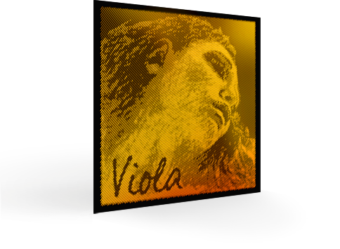 Evah Pirazzi Gold Viola Strings for sale at Bridgewood and Neitzert London