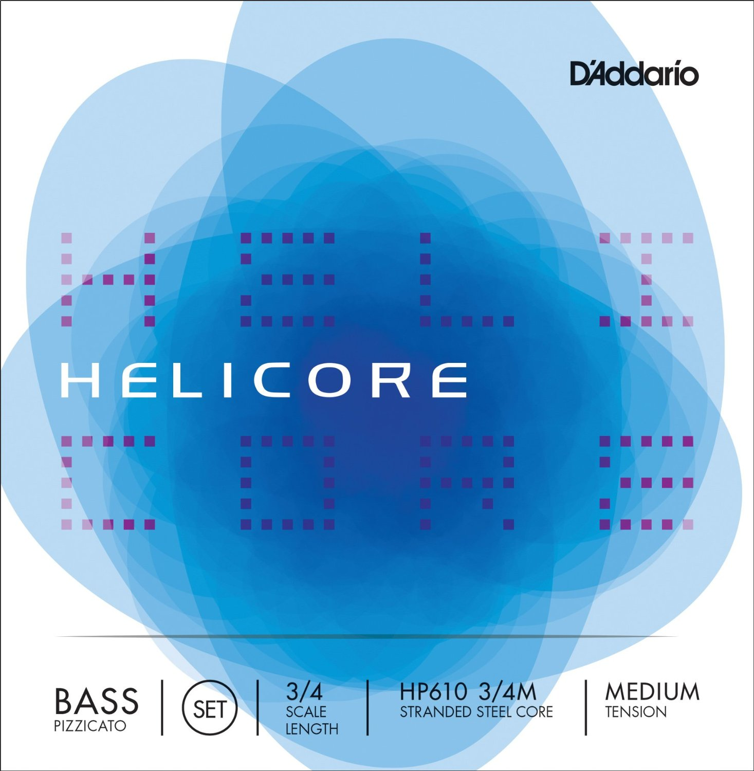 D'Addario Helicore Pizzicato Double Bass Strings for sale at Bridgewood and Neitzert London