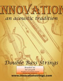 Innovation Braided Orchestral Strings for sale at Bridgewood and Neitzert London