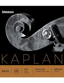 Kaplan Double Bass Strings for sale at Bridgewood and Neitzert London