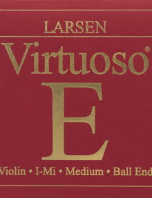 Larsen Virtuoso Violin Strings for sale at Bridgewood and Neitzert London