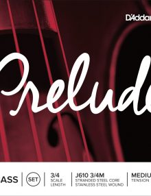 D'Addario Prelude Double Bass Strings for sale at bridgewood and Neitzert London