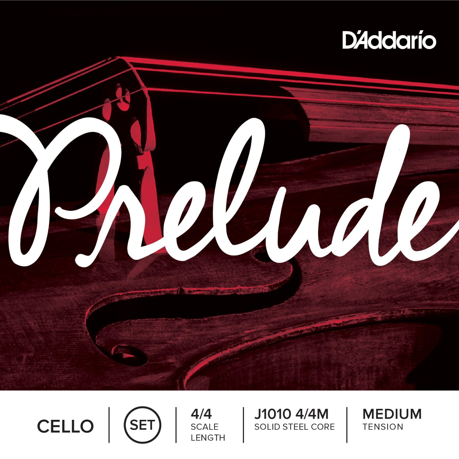 D'Addario Prelude Cello Strings for sale at bridgewood and neitzert london