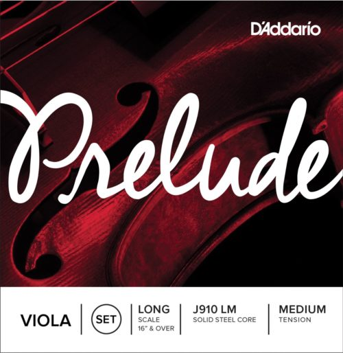 D'Addario Prelude Viola Strings for sale at bridgewood and neitzert london