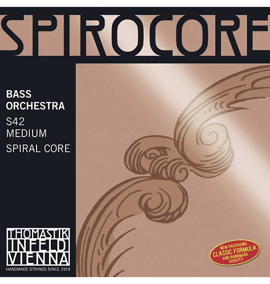 Spirocore Double Bass Strings for sale at Bridgewood and Neitzert London