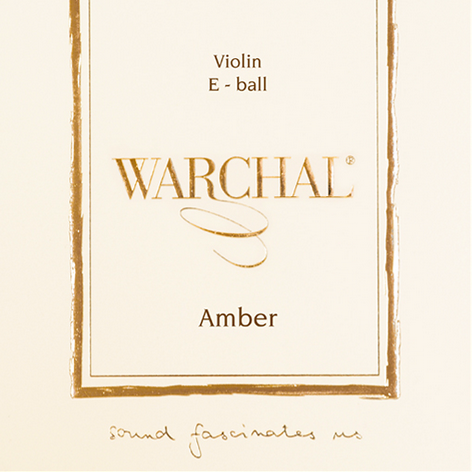 Warchal Amber Violin Strings for sale at Bridgewood and Neitzert London