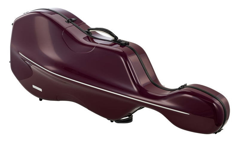 Gewa air cello case purplefor sale at Bridgewood and Neitzert London
