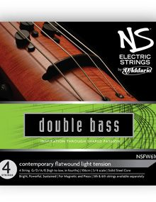NS Electric Contemporary Bass Strings for sale by Bridgewood and Neitzert London