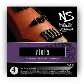 NS Electric Viola Strings for sale by Bridgewood and Neitzert London