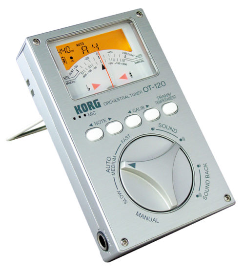 Korg OT120 ORCHESTRAL TUNER for sale at Bridgewood and Nietzert London