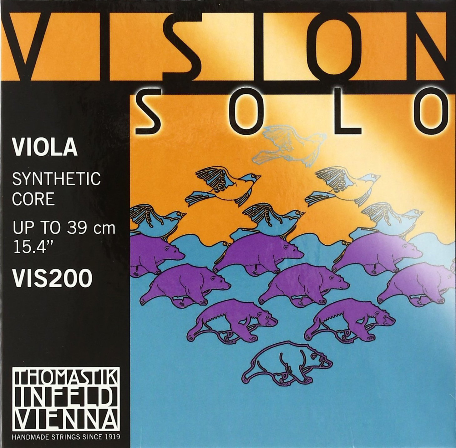 Vision Solo Viola Strings for sale by Bridgewood and Neitzert London