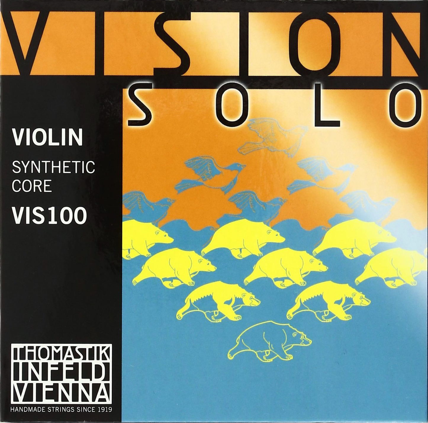 Vision Solo Violin Strings for sale by Bridgewood and Neitzert London