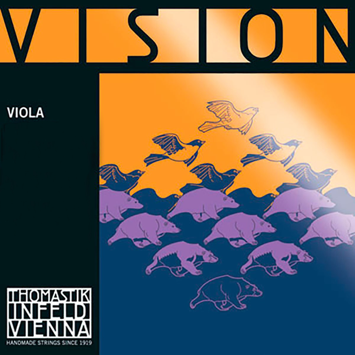 Thomastik Vision Viola Strings for sale by Bridgewood and Nietzert London