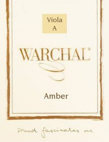 Warchal Amber Viola Strings for sale at Bridgewood and Neitzert London