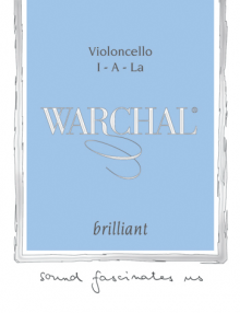 Warchal Brilliant Cello Strings for sale at Bridgewood and Neitzert London