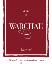 Warchal Karneol Violin Strings for sale at Bridgewood and Neitzert London