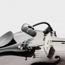 DPA violin viola cello double bass microphone pickup for sale at Bridgewood and Neitzert London