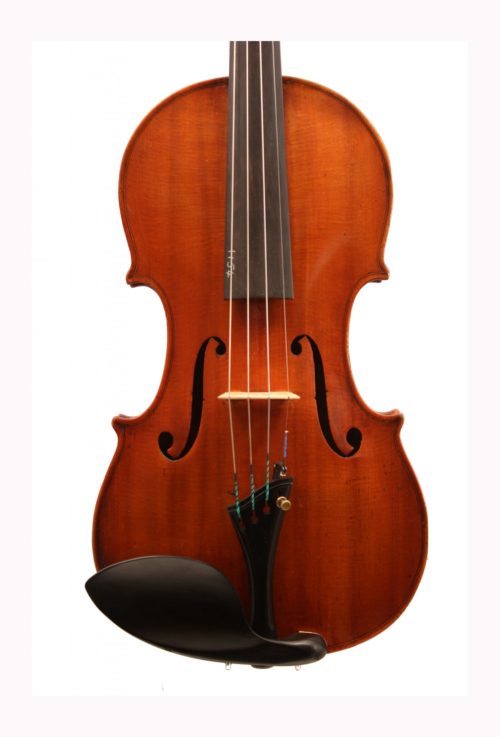 Violin by James Hardie Edinburgh 1896 for sale at Bridgewood and Neitzert London