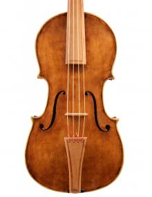 Baroque viola by Nate Tabor for sale at Bridgewood and Neitzert London