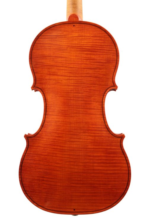 Baroque violin by Paul Bowers for sale at Bridgewood and Neitzert London