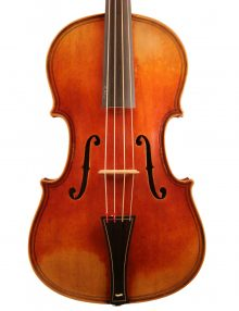 Baroque viola by Jay Haide for sale at Bridgewood and Neitzert London
