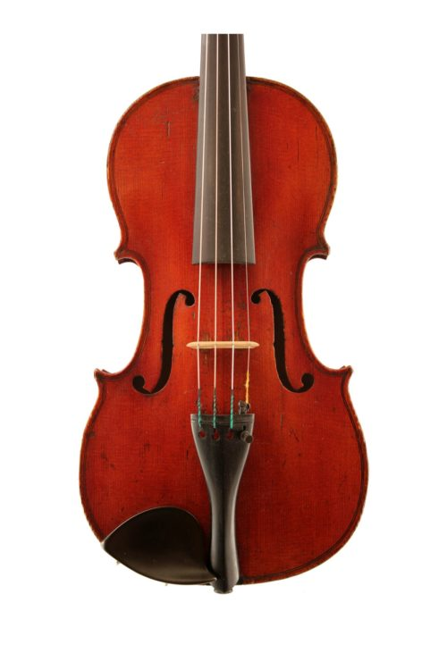 French violin Derazey school c1850 for sale at Bridgewood and Neitzert London